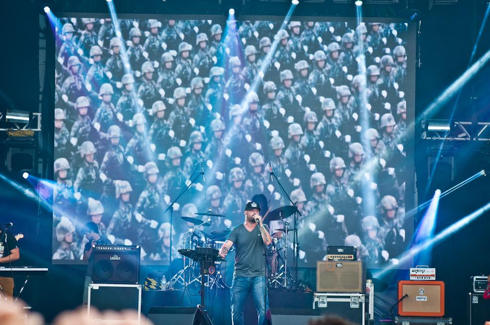 No quedaron atrás los grupos nacionales, como Revolber, que hicieron delirar al público el día 3 del Personal Fest. (Elton Núñez)