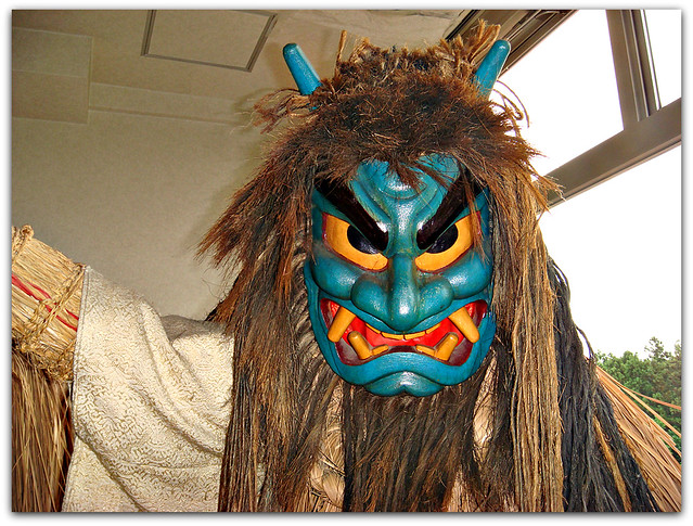 Namahage Display at hotel in Oga, Akita (Japan) 2