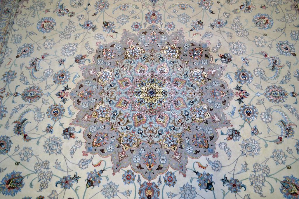 Isfahan Persian Rug 12x17