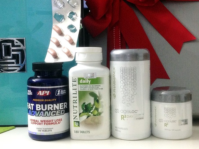 REVIEW - health supplements - berocca, ageloc nu skin, ephyra, nutrilite