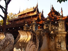 Burmese Temple & Monastery