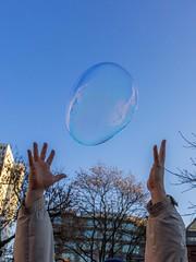 catch the bubble!