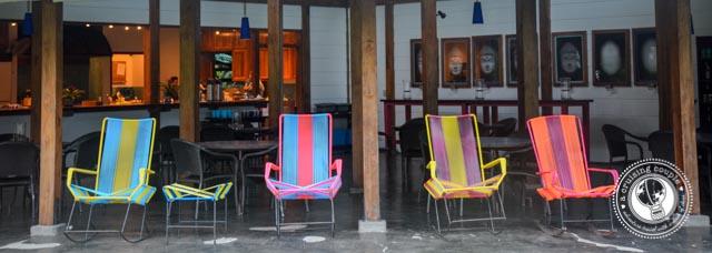 Blue Osa Dining Area