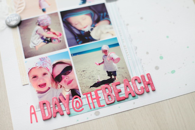 Page A Day at the beach zoom 1