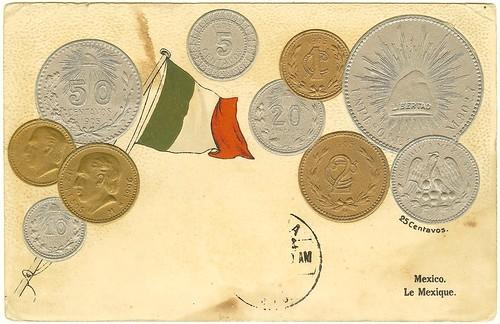 Mexico Coin Card obv