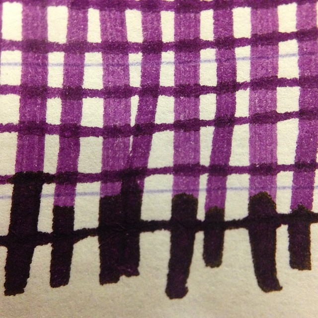 @Montblanc_world Lavender Purple #fpgeeks #fountainpens #ink #inks #inkporn #montblanc get some at @andersonpens
