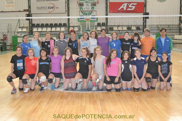 Participantes y entrenadores