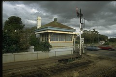 North Adelaide Railway Station, Signal Box, WYE Signal Cabin, 1854 Abutments to Railway Line