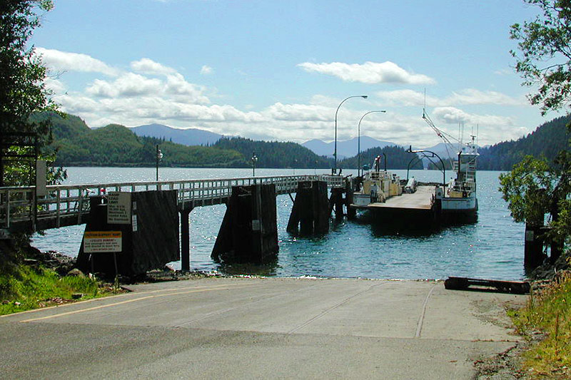 Alliford Bay Ferry Terminal, Alliford Bay, Haida Gwaii, British Columbia, Canada