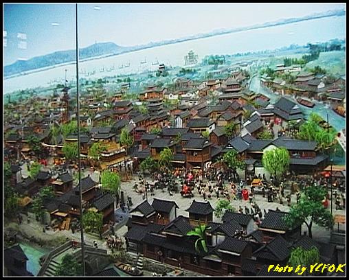 杭州 吳山天風景區 - 070 (城隍閣 內的南宋時期的杭州風情軟木立體畫))