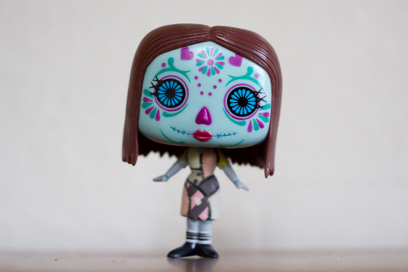 Friday, December 27: My Christmas present from Brendan's brother, Mike. It's Dia de los Muertos Sally :D