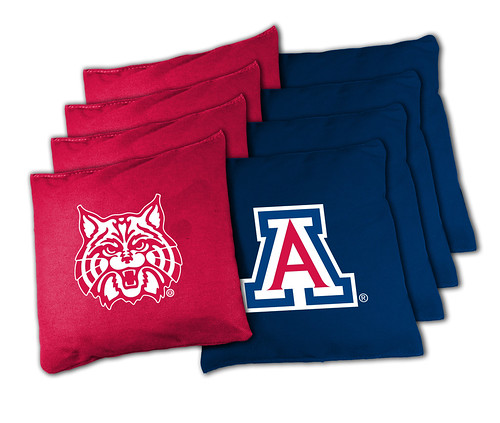 Arizona Wildcats Cornhole Bags