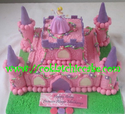 Kue ulang tahun castle princess ataya malikasya jual kue ulang