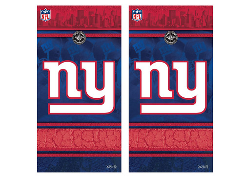 New York Giants Cornhole Game Decal Set