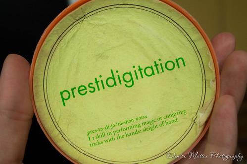 Prestidigitation