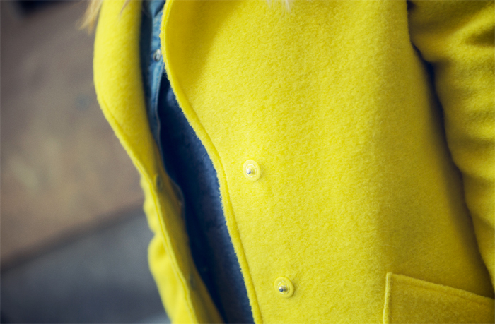 stret style barbara crespo NY cap zara yellow coat fashion blogger blog de moda outfit