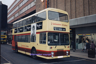 Leicester CB 70 (AUT 70Y), September 1994.