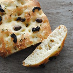 Focaccia (thyme, olives and sundried tomatoes)