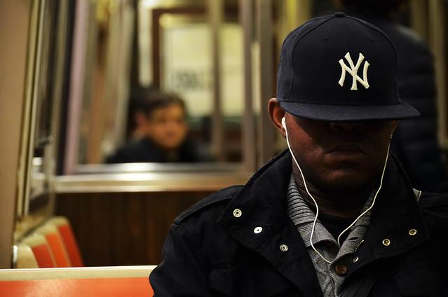 NY en el metro de Nueva York