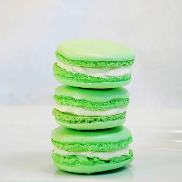 Key Lime Macarons - Nutmeg Disrupted
