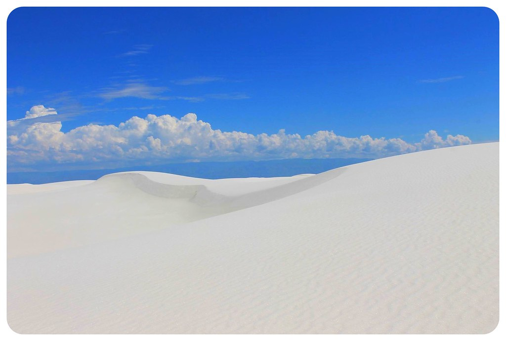 White Sands New Mexico dunes