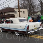 Classic Car, 2014 Bergen County St. Patrick`s Day Parade, Bergenfield, New Jersey