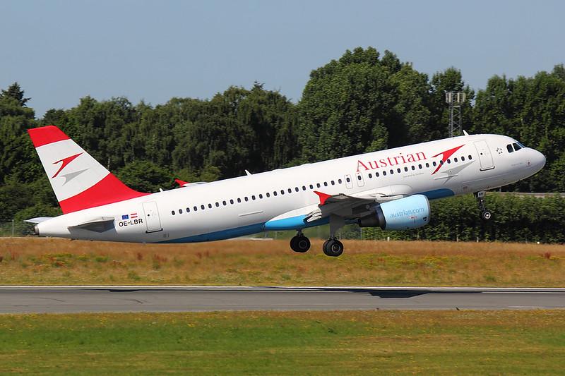 Austrian - A320 - OE-LBR (2)