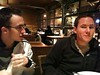 Kyle & Jacob at Broadway Grill for last dinner by Nick_Starr