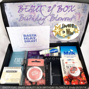 Beauty Box Birthday Blowout