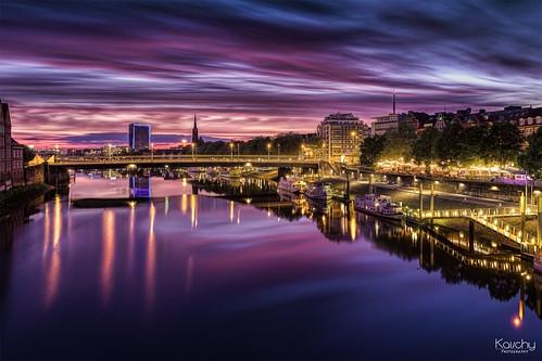 ** Bremen - Sunset **