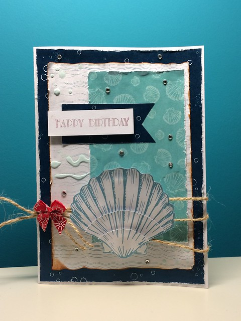 Seashell card