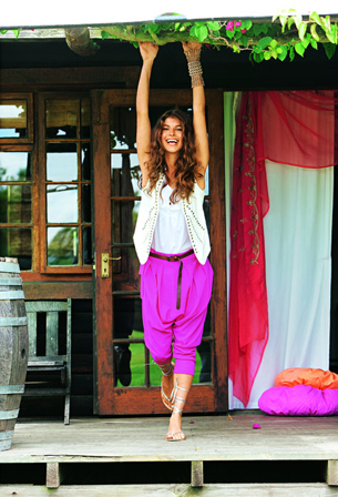 burda harem trousers