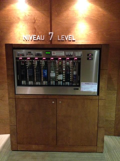 Hotel vending machine