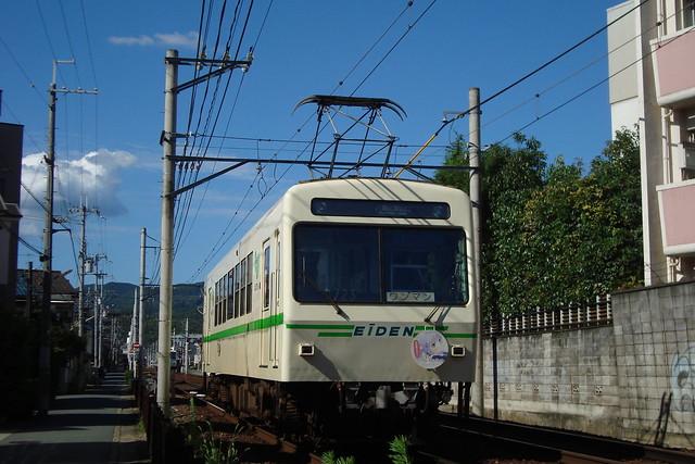 2015/07 叡山電車×NEW GAME! ラッピング車両 #23
