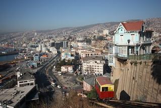 Ascensor Artillería.  Valparaiso, Chile.
