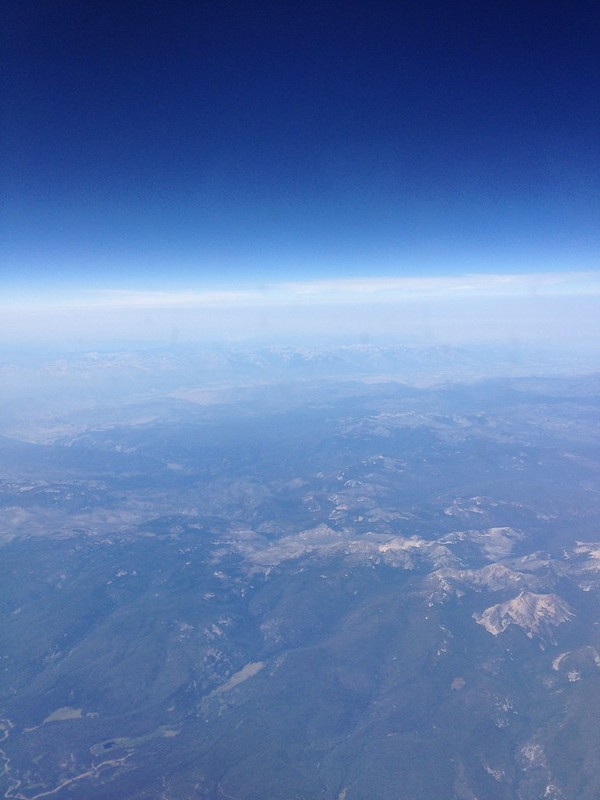 Blue Sky Over California