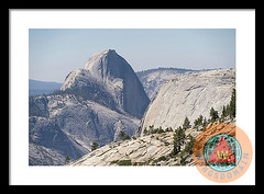 Half Dome And Yosemite Valley From Olmsted Point Tioga Pass Yosemite California
