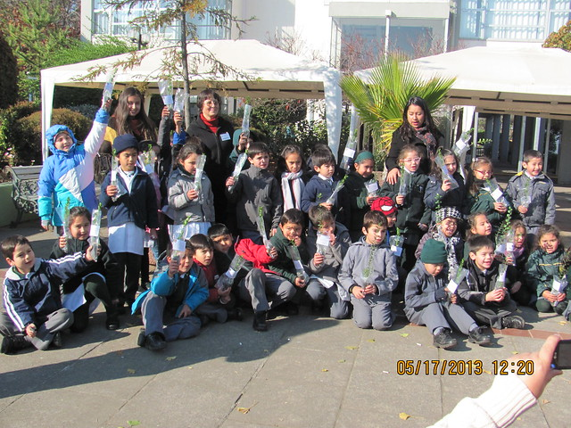 Celebración en el Campus Los Angeles de la Universidad de Concepción