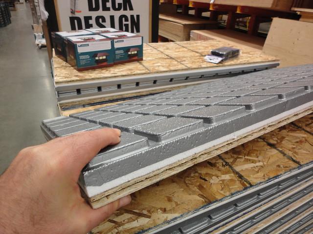 amdry insulated basement flooring