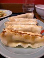 Jiaozi, gyoza, 餃子
