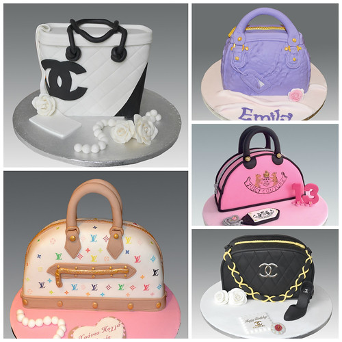 Bag Cake Collage