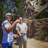 QB Philip Rivers scored major points with the @sandiegozoo giraffes on Monday's #ThankYouSD Day.