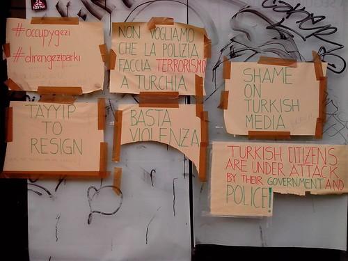 #occopygezi the hashtag vouce by Ylbert Durishti