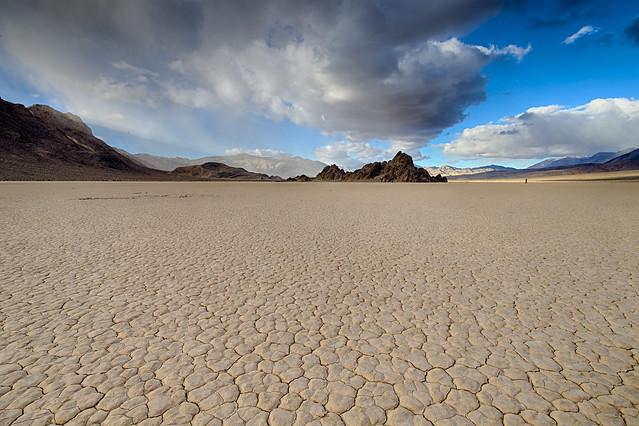Racetrack Playa, Parque Nacional del Valle de la Muerte, California