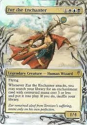 Zur the Enchanter Altered Art Magic the Gathering Card Art by Ondal the Fool commander Zur the Enchanter MTG Zur the Enchanter EDH Zur the Enchanter