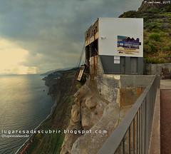 Teleférico de Fajã dos Padres (Ribeira Brava, Madeira)