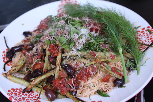 Grilled Fennel Pasta