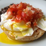 Poached Egg with Fresh Salsa
