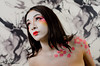 Sakura Body Paint
