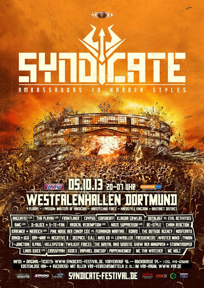 cyberfactory 2013 syndicate westfalenhallen dortmund germany